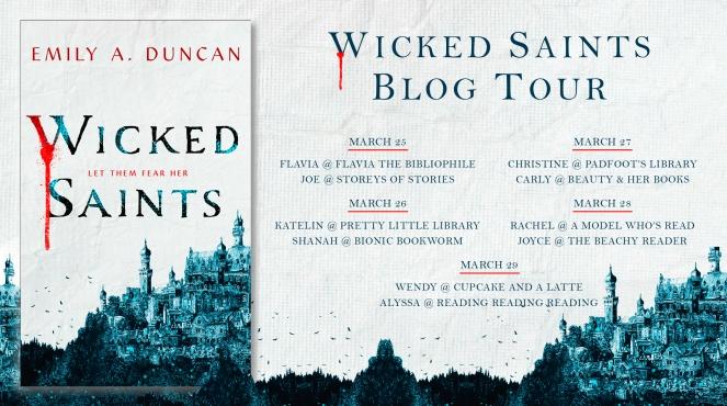 Wicked Saints Blog Evite