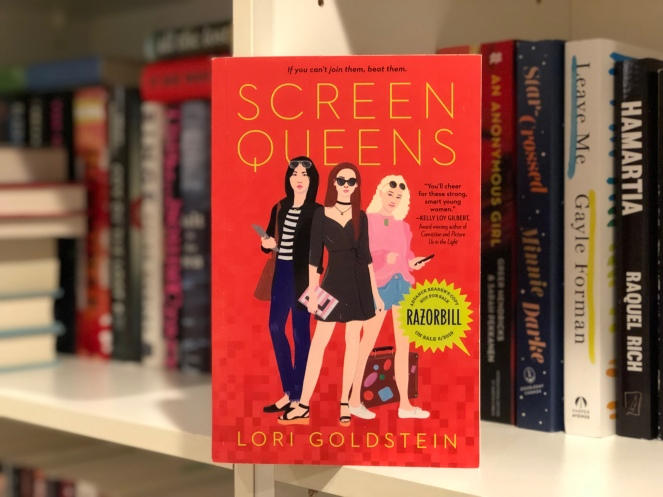 Alyssa's Reviews – Screen Queens by Lori Goldstein (ARC